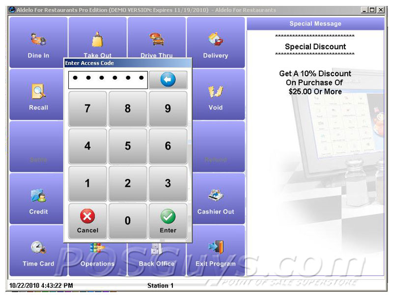 Aldelo Pro For Restaurants Pos Software Posguys Com