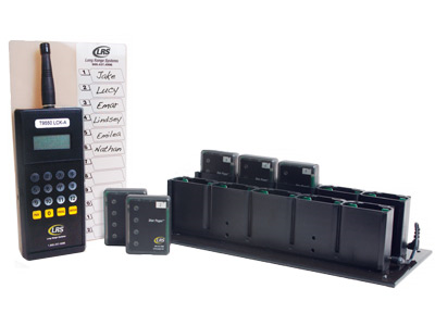 Long Range Systems Staff Pager Kit Restaurant Pagers