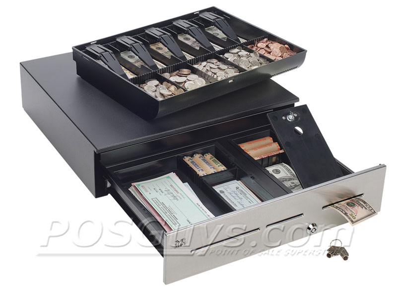 18in Cash Drawer w/ Stainless Front