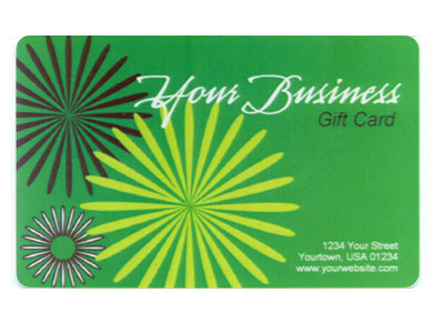 Gift Card Full Color Design 1 Photo