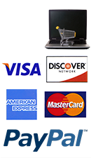 POSGuys.com accepts Paypal, Visa, MasterCard, Discover, American Express
