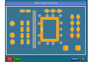 Amigo POSGuyscom - Restaurant table map