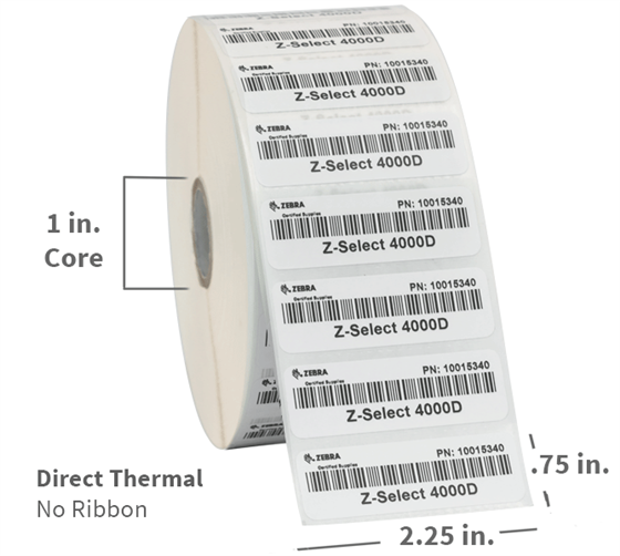 Direct Thermal Single Rolls Photo