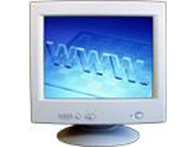 "Full Color 15"" CRT Product Image"