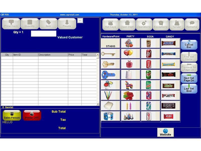 CAP Software Cash N Carry POS Software | POSGuys com