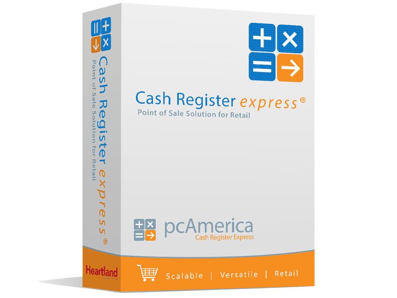 PC America Cash Register Express from POSGuys com
