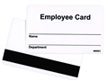 Alternate image for Employee Card Design 2 with magnetic stripe.