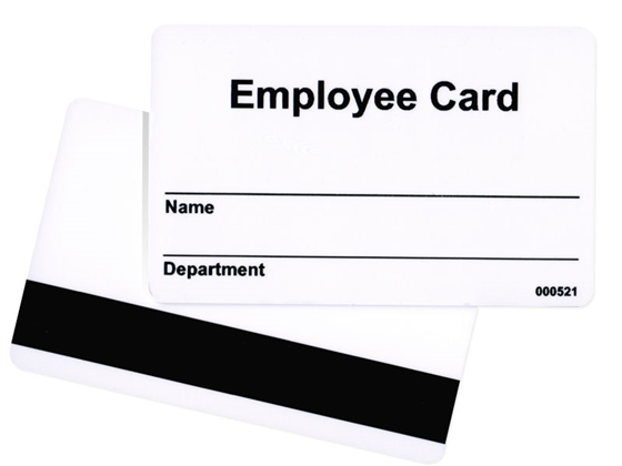 Employee Card Design 2 Photo