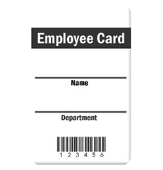 * Employee Card Design 1 product image