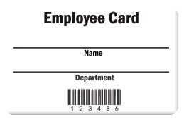 Employee Card Design 2 Product Image