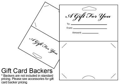 Gift Card Design 5 Card Printing Posguys Com