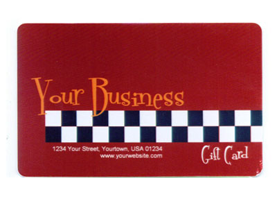 Gift Card Full Color Design 3 Product Image