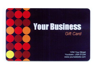 Gift Card Full Color Design 5 Product Image