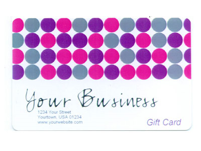 Gift Card Full Color Design 2 Product Image