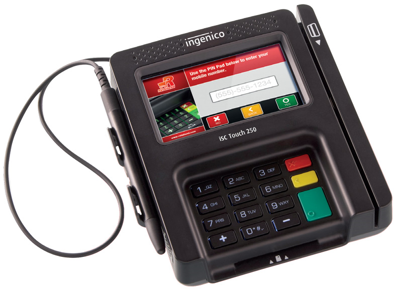 Ingenico iSC Touch 250 Payment Terminals | POSGuys.com