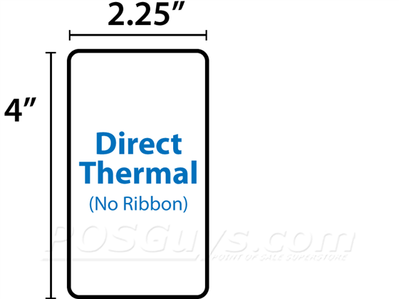 Z-Select Direct Thermal Photo