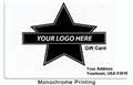 Alternate image for Gift Card Design 8 - Logo Card