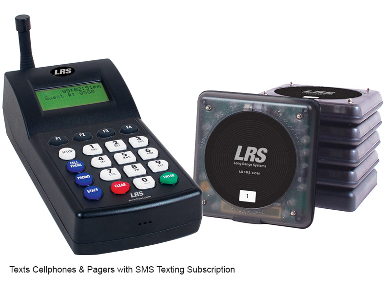 Long Range Systems Guest Paging Kits Restaurant Pagers