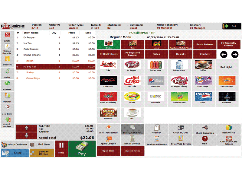 Possible Pos For Restaurant Pos Software Posguys Com