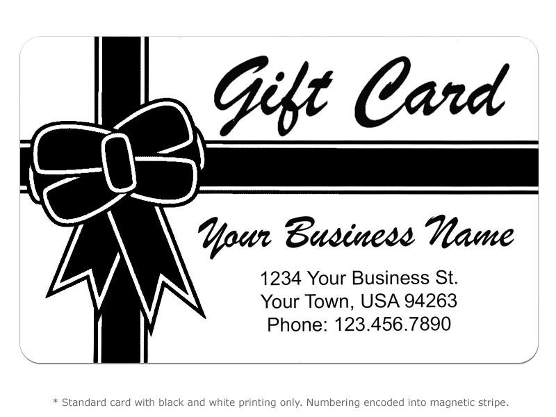 Gift Card Design 2 Card Printing   POSGuys.com