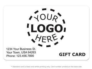 * Gift Card Design 8 - Logo Card product image
