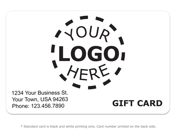 Gift Card Design 8 - Logo Card Product Image