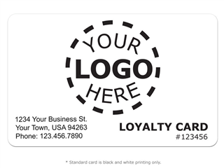 * Customer Loyalty Design 5 - Logo Card product image