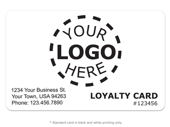 Customer Loyalty Design 5 - Logo Card Product Image
