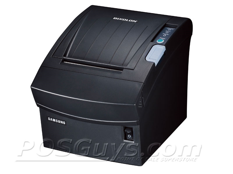 Bixolon srp-350plusiii thermal receipt printer serial int blk.