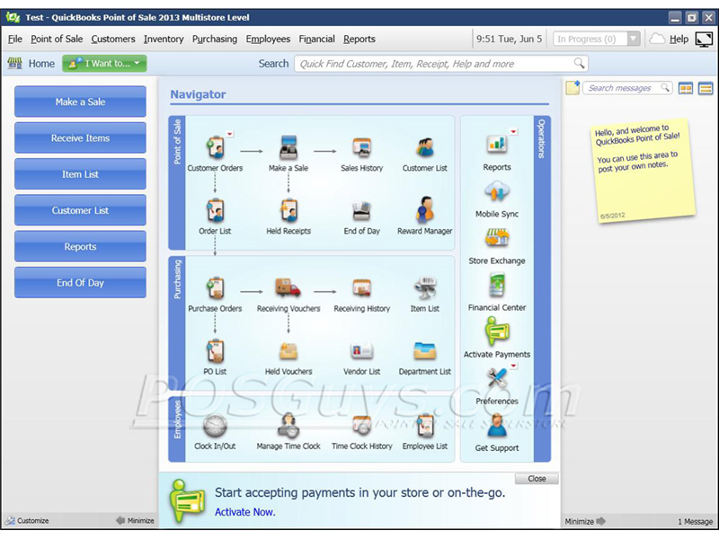 Intuit Quickbooks Point Of Sale 2013 Pro Pos Software