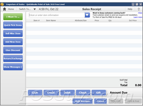 QuickBooks Point of Sale Basic Product Image