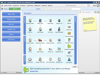 Intuit QuickBooks Point of Sale 2013 Basic product image