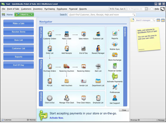 QuickBooks Point of Sale 2013 Basic Product Image