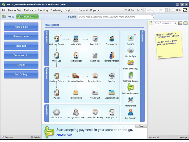 Intuit QuickBooks Point of Sale 2013 Pro 411936 from POSGuys com