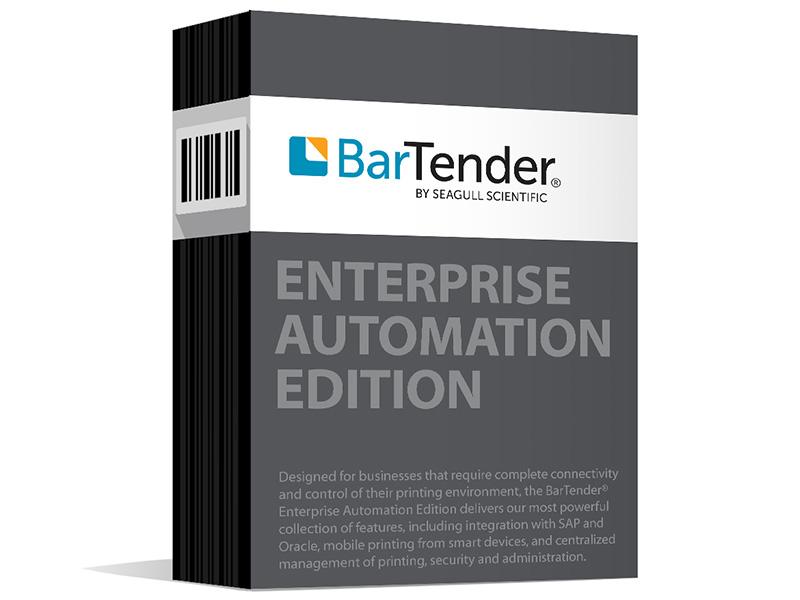 Seagull BarTender Enterprise Automation Barcode Label