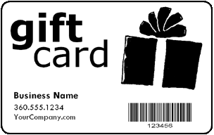 Pre-Designed Customer Gift Cards Product Image
