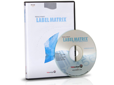 Label Matrix Product Image