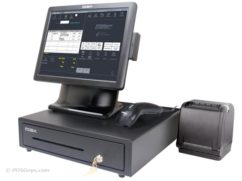 Posguys Com Traditional Retail System Retail Pos Systems