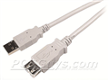 Alternate image for USB 2.0 A to A M/F