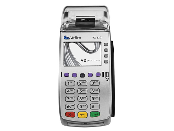 WorldPay Vx520 Photo