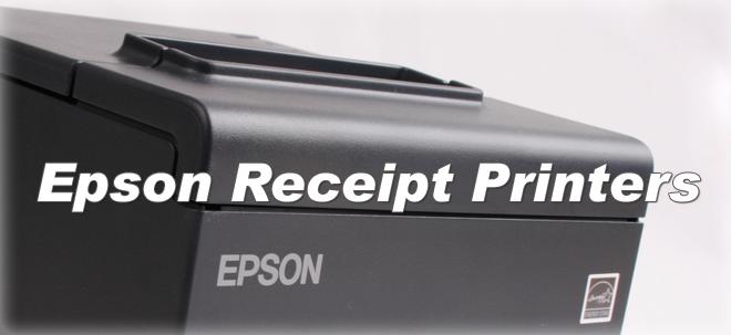 Epson Receipt Printers Banner