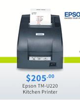 Epson TM-U220 Kitchen Printer