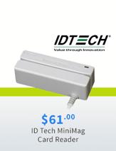 ID Tech MiniMag Card Reader