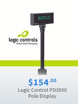 Logic Controls PD3000 Pole Display